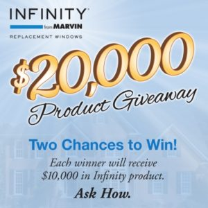 infinity from marvin windows sale