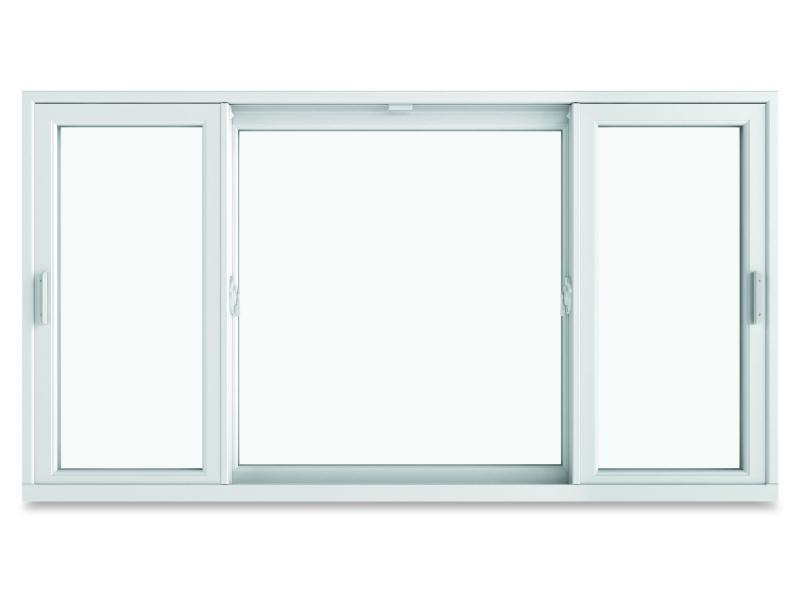 Infinity Triple Sash Sliding Window