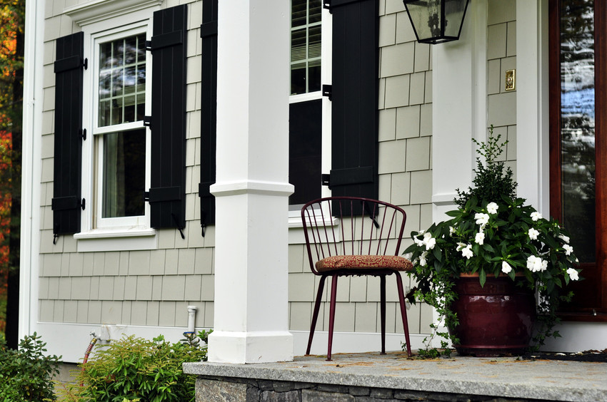 James Hardie siding and trim