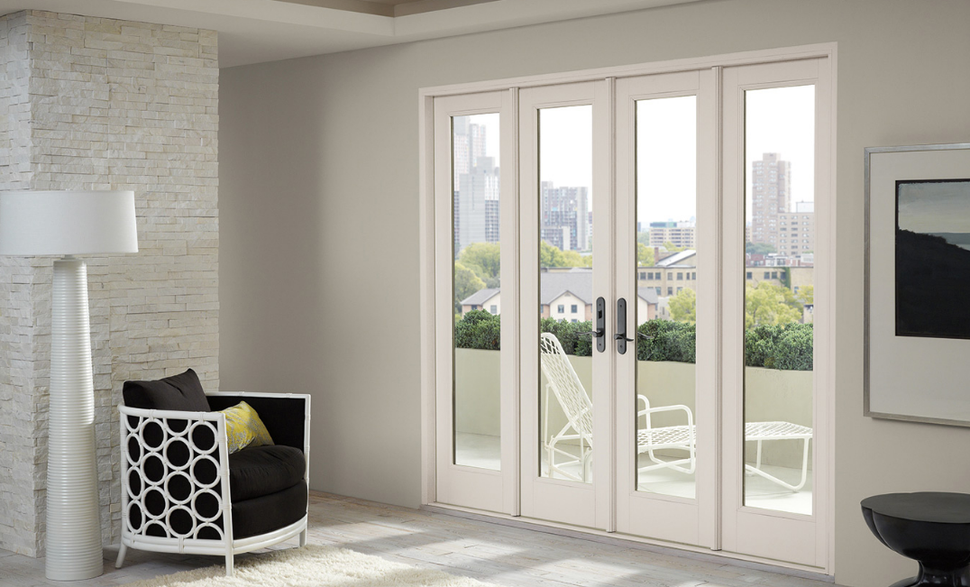 Swinging french patio doors in denver gravina s window for Marvin sliding screen door