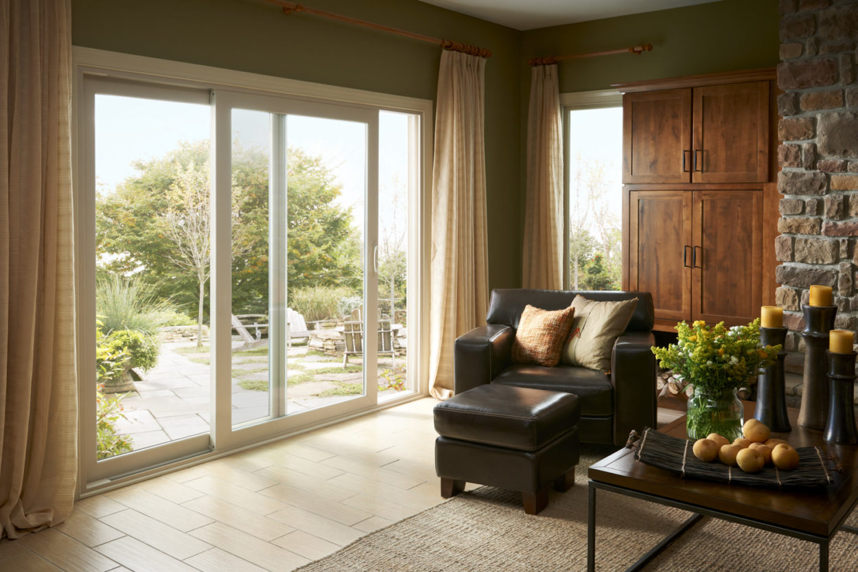 Simonton patio doors gravina s window center of for Center sliding patio doors