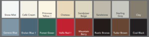 storm door colors denver