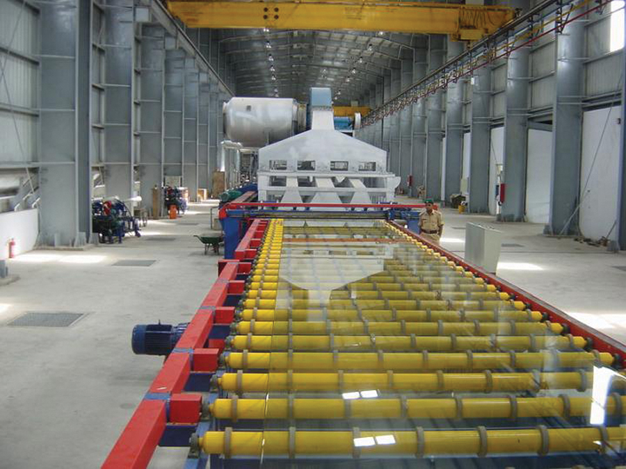 Step-by-step Manufacturing of Float Glass