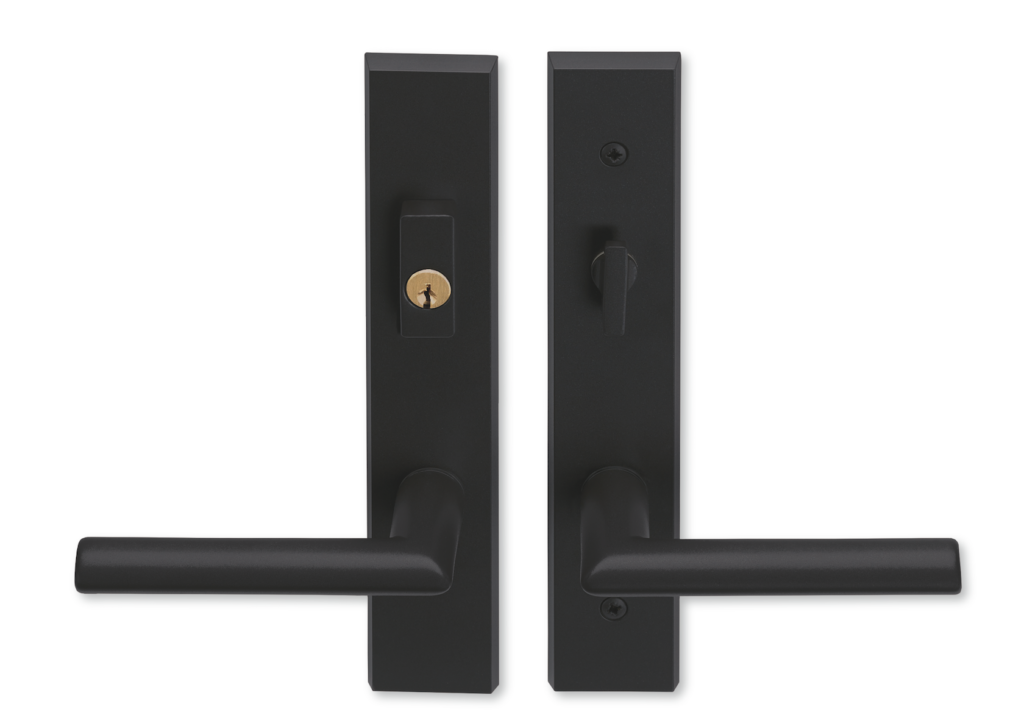 Genial Matte Black Hardware Marvin Doors