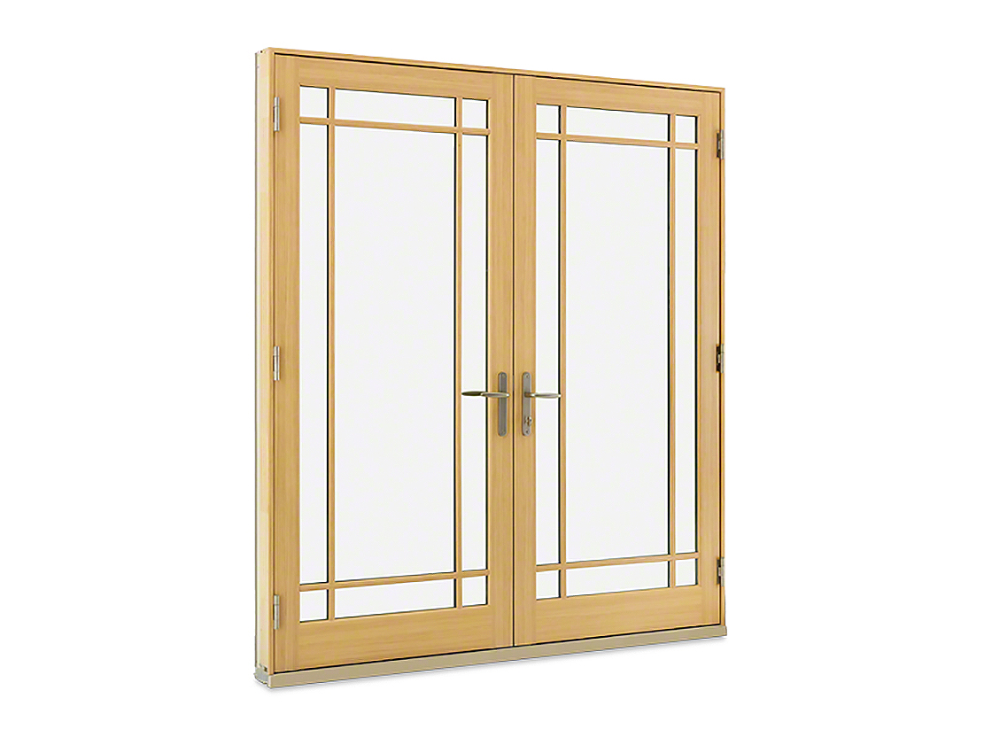 Marvin exterior doors for Outside french doors