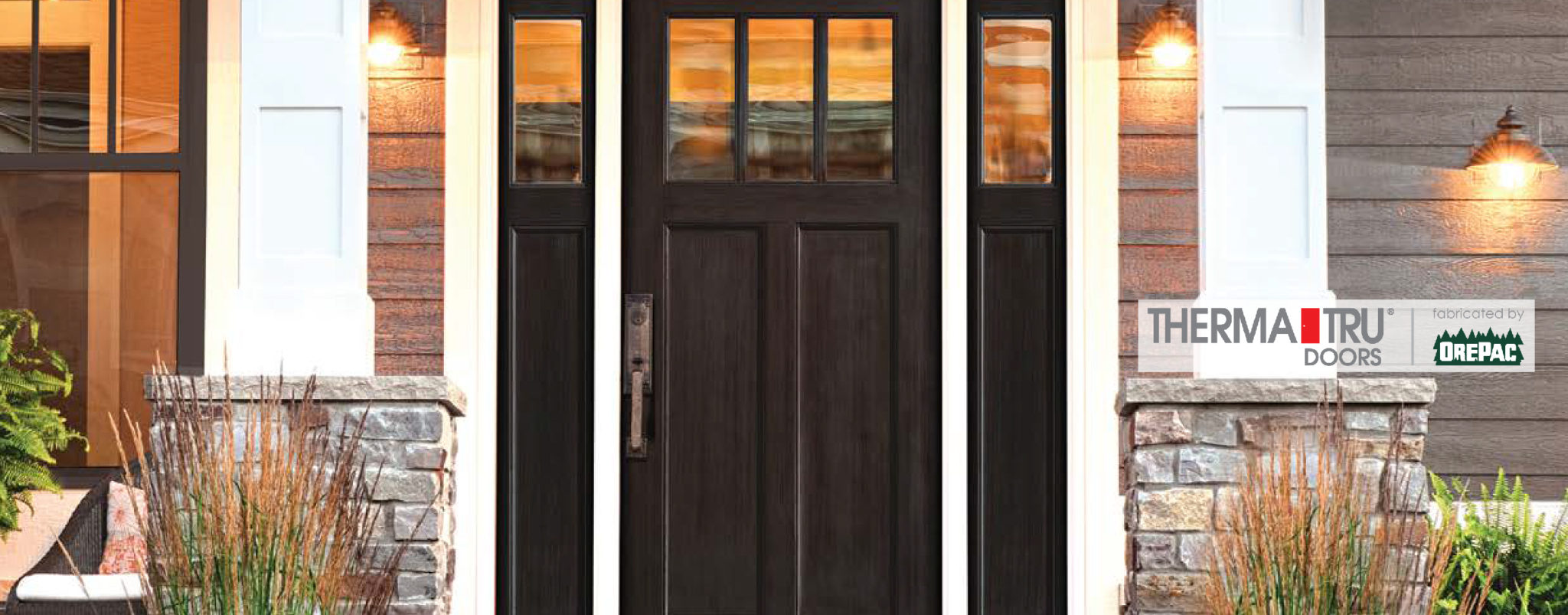 Residential entry doors exterior front doors denver co for Residential entry doors