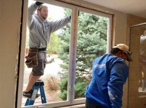 new windows are plumb-level-square
