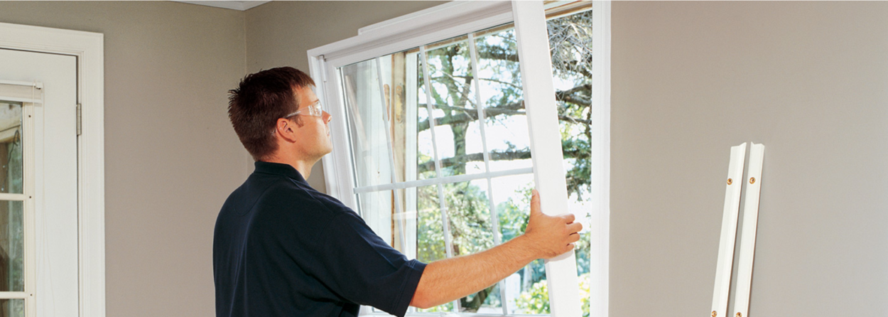 replacement window and door project