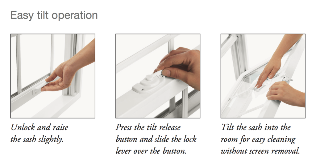 Operating Double Hung Windows