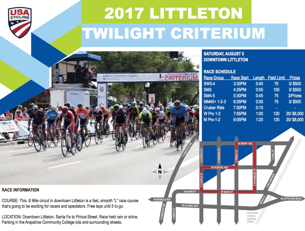 2017 LITTLETON TWILIGHT CRITERIUM