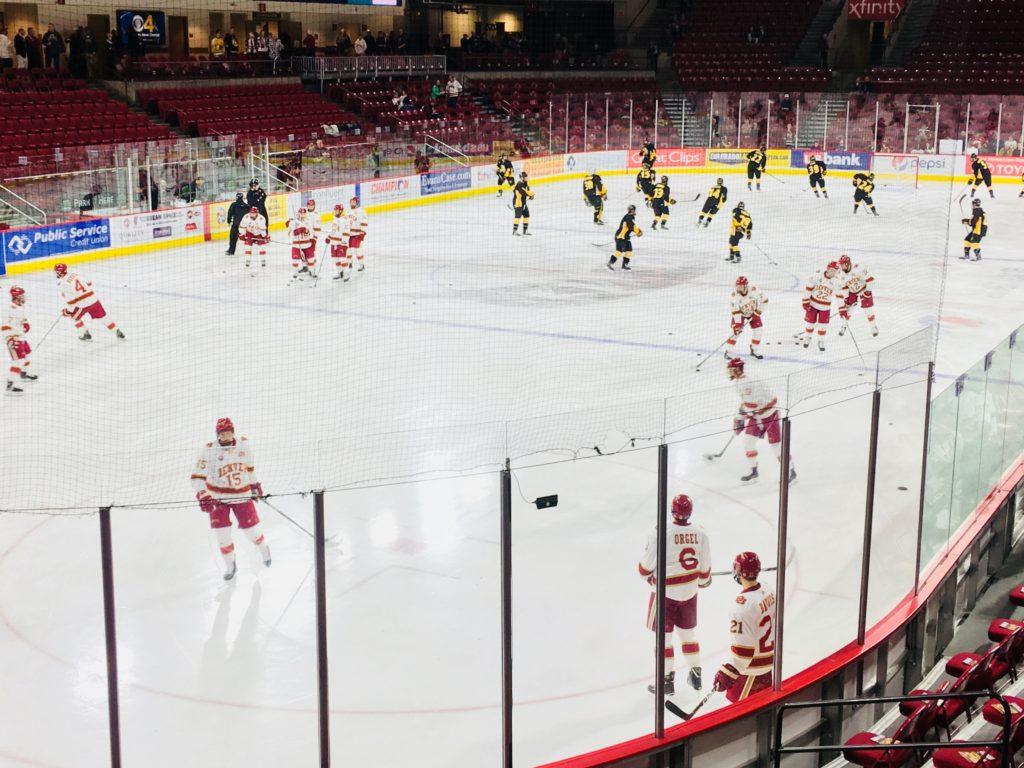 2017 du hockey vs colorado college