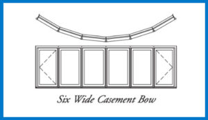6wide bow window