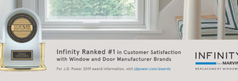 INFINITY® DOUBLE HUNG FIBERGLASS WINDOWS